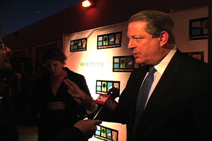 a clip from CLCV event honoring Al Gore & the filmmakers of An Inconenient Truth