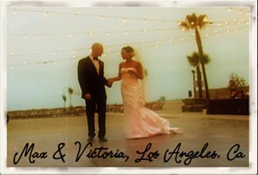 Max and victoria wedding
